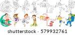 Cartoon Children Set....