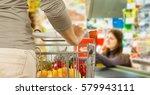 shopping. | Shutterstock . vector #579943111