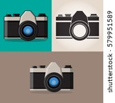 camera. camera icon. set of...