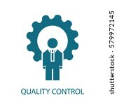 quality control icon | Shutterstock .eps vector #579972145