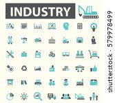 industry icons | Shutterstock .eps vector #579978499