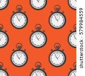 stopwatch pattern. stopwatch...   Shutterstock .eps vector #579984559