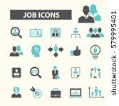 job icons   Shutterstock .eps vector #579995401