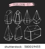 hand drawn vector graphic line... | Shutterstock .eps vector #580019455