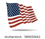 illustration united states of... | Shutterstock .eps vector #580020661