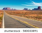 Highway To Monument Valley ...