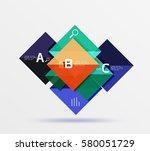 square banner. vector template... | Shutterstock .eps vector #580051729