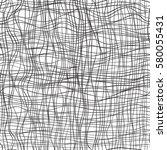 hand drawn seamless pattern.... | Shutterstock .eps vector #580055431