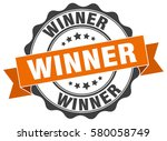 winner. stamp. sticker. seal.... | Shutterstock .eps vector #580058749