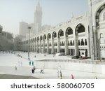 mecca  saudi arabia  may 13 ... | Shutterstock . vector #580060705