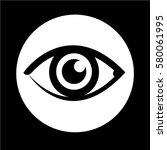 eye icon | Shutterstock .eps vector #580061995
