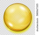 Big Translucent Yellow Sphere...