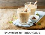 iced tea or chai masala | Shutterstock . vector #580076071