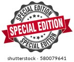 special edition. stamp. sticker.... | Shutterstock .eps vector #580079641