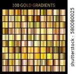 Gold Gradients 100 Big Set....