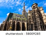St. Stephan Cathedral In Center ...