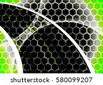 green abstract template for... | Shutterstock . vector #580099207