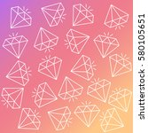 abstract vector seamless... | Shutterstock .eps vector #580105651