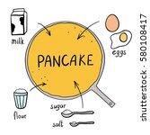 vector illustration of a sketch ... | Shutterstock .eps vector #580108417