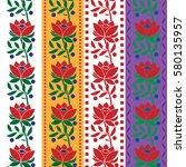 Czech Folk Seamless Pattern...