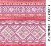 ethnic seamless pattern. aztec... | Shutterstock .eps vector #580146541