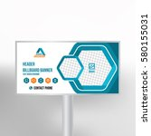 billboard design  multipurpose... | Shutterstock .eps vector #580155031