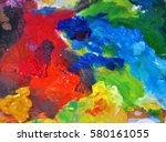 Bright Colors Oil Paint Red...
