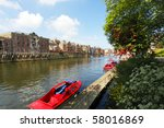 The River Ouse In The City Of...