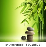 spa still life | Shutterstock . vector #58018579