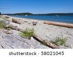 Beach Landscape At Lopez Island ...