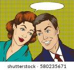 illustration in pop art style....   Shutterstock . vector #580235671
