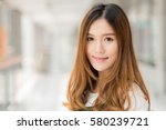 close up portrait of young... | Shutterstock . vector #580239721