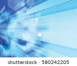 abstract background technology... | Shutterstock .eps vector #580242205