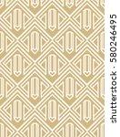vector seamless abstract... | Shutterstock .eps vector #580246495