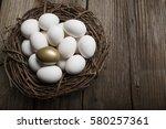 financial success finding the... | Shutterstock . vector #580257361