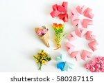 happy international women s day ...   Shutterstock . vector #580287115