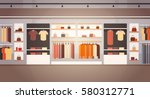 big fashion shop super market... | Shutterstock .eps vector #580312771