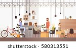 people in creative office co... | Shutterstock .eps vector #580313551