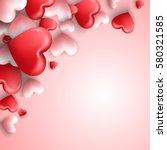 vector illustration of happy... | Shutterstock .eps vector #580321585