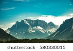 mountains in austria | Shutterstock . vector #580330015