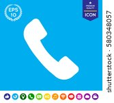 Telephone Handset Symbol ...