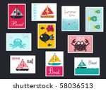 Summer Postage Stamps