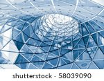geometric glass facade | Shutterstock . vector #58039090