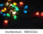 Colorful Glowing Christmas...