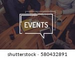events concept | Shutterstock . vector #580432891