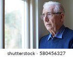 senior man suffering from... | Shutterstock . vector #580456327
