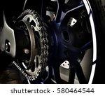 motorcycle tyre big bike  ... | Shutterstock . vector #580464544