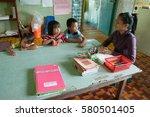 penampang sabah malaysia   jan... | Shutterstock . vector #580501405