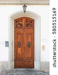 Wooden Vintage Entry Door...