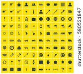 business icons set | Shutterstock .eps vector #580521847